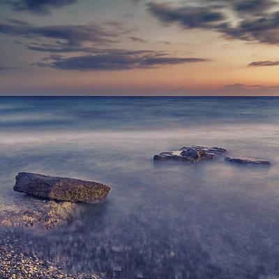 Beach Landscape Photograph - Time by Stelios Kleanthous