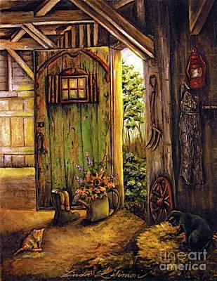Comfort Painting - Timeless by Linda Simon