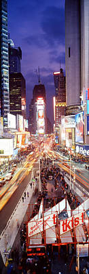 Times Square, Nyc, New York City, New Art Print by Panoramic Images