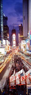 Times Square, Nyc, New York City, New Art Print