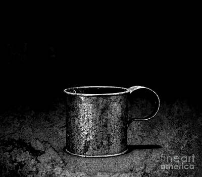 Photograph - Tin Cup Chalice by John Stephens