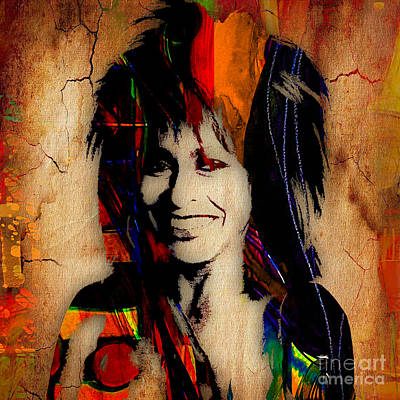 Dive Mixed Media - Tina Turner Collection by Marvin Blaine