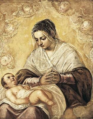 Tintoretto, Jacopo Robusti, Called Il Art Print
