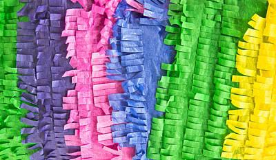 Tissue Paper Art Print by Tom Gowanlock