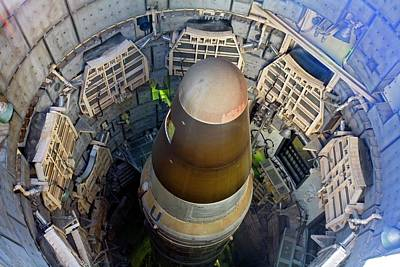 Titan Missile In Silo Print by Jim West