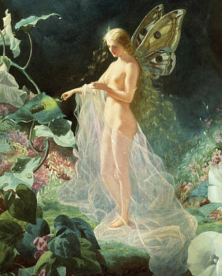 Midsummer Painting - Titania by John Simmons