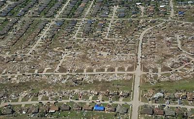 Wreckage Photograph - Tornado Aftermath by Bradley C. Church