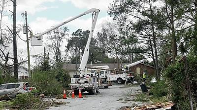 Pensacola Photograph - Tornado Damage by Jim Edds