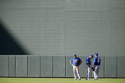 Photograph - Toronto Blue Jays V Baltimore Orioles by Jonathan Ernst