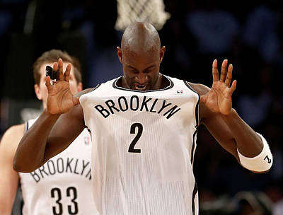 Photograph - Toronto Raptors V Brooklyn Nets - Game by Elsa
