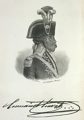 Slaves Photograph - Toussaint Louverture by British Library