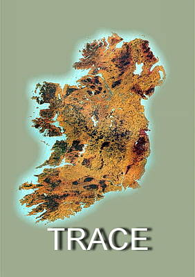 Digital Art - Trace Your Ancestry by Val Byrne