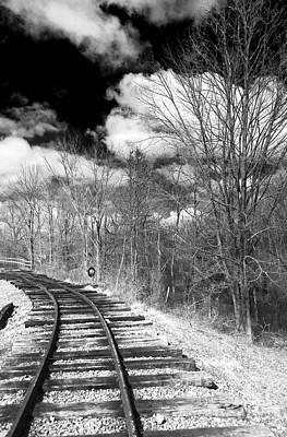 Photograph - Tracks by John Rizzuto