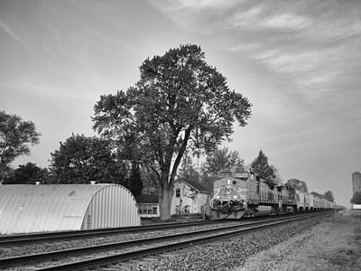 Photograph - Train Of Thought  by Tom Druin