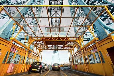 Transporter Bridge Art Print