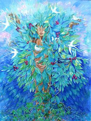 Tree Of Life  Original by Trudi Doyle