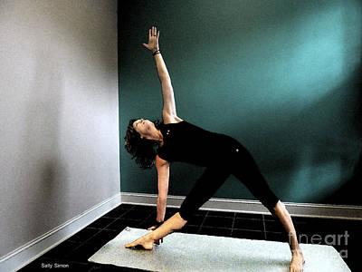 Photograph - Triangle Pose by Sally Simon