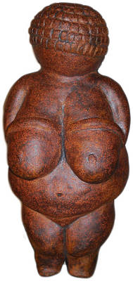 Sculpture - Tribute To Venus Of Wilendorf by Kristen R Kennedy