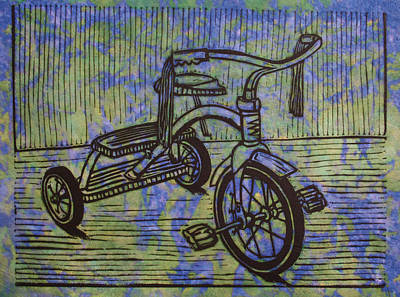 Drawing - Tricycle by William Cauthern