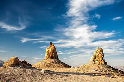 Photograph - Trona Pinnacles by Peter Tellone
