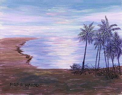 Maria Iliou Painting - Tropical Paradise by Artists With Autism Inc