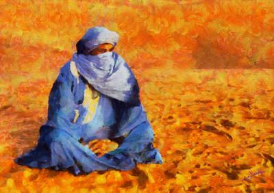 Tuareg 2 Art Print by George Rossidis