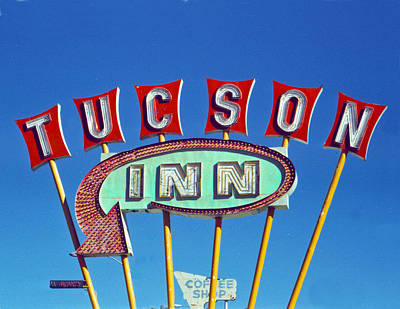 Retro Wall Art - Photograph - Tucson Inn by Matthew Bamberg
