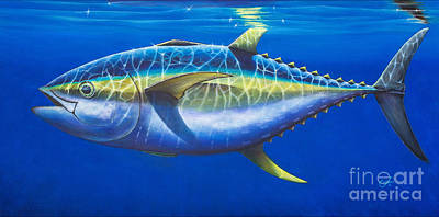 Painting - Tuna At Twelve by Johnny Widmer