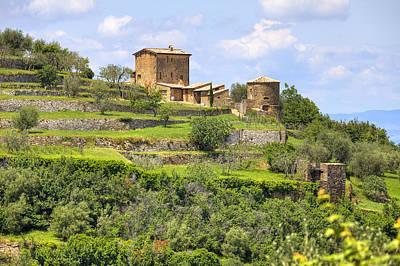 Brunello Photograph - Tuscany - Montalcino by Joana Kruse