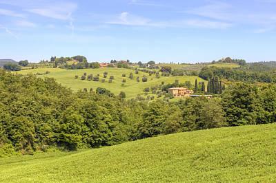 Spring House Photograph - Tuscany - Montepulciano by Joana Kruse
