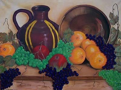 Painting - Tuscany Treats by Sharon Duguay