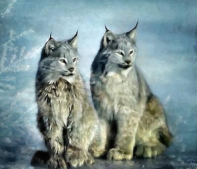 Twins Art Print by Gun Legler