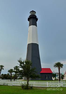 Photograph - Tybee Island Lighthouse by Bob Sample