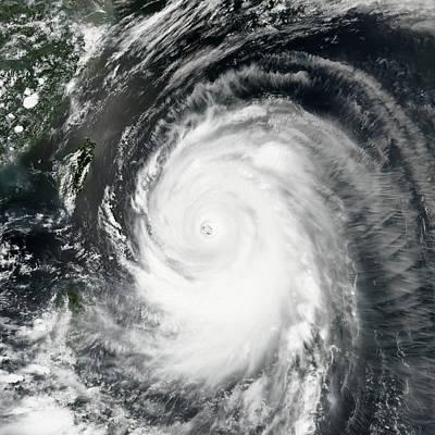 Typhoon Neoguri Print by Nasa