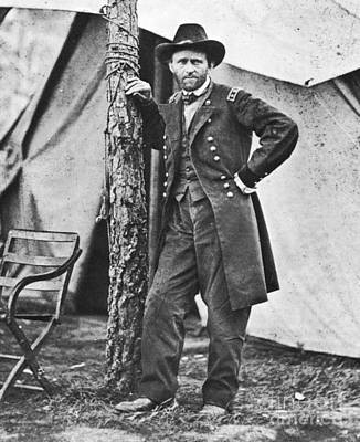 Portraiture Photograph - Ulysses S Grant by American School