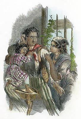 African-american Drawing - Uncle Tom's Cabin, 1852 by Granger