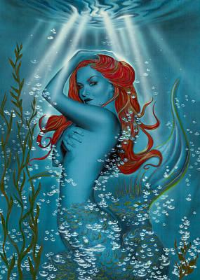 Under The Sea Mixed Media - Under The Sea by Melissa LoBue