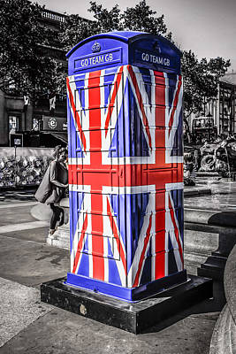 Union Jack Phone Art Print