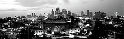 Union Station Photograph - Union Station At Sunset With City by Panoramic Images