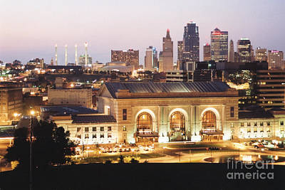 Photograph - Union Station Evening by Crystal Nederman