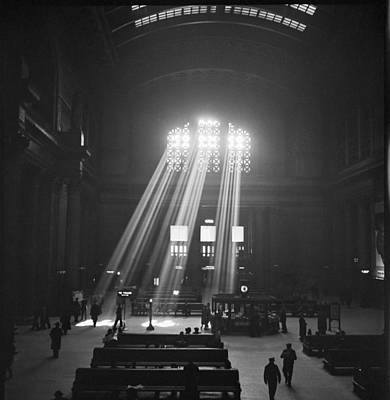 Photograph - Union Station In Chicago by Jack Delano