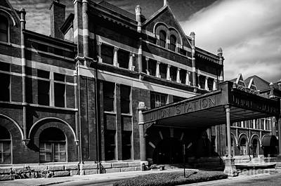Union Station In Montgomery Alabama Art Print