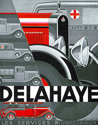 Photograph - Delahaye by Unknown