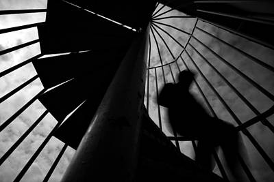 Staircase Photograph - Untitled by Ali Ayer