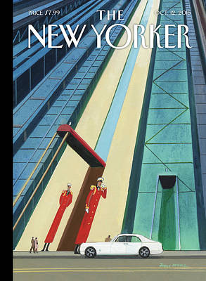 New Yorker October 12th, 2015 Art Print