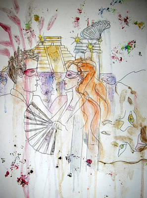 Mixed Media - Untitled by Cynthia Hilliard
