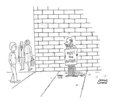 Beggars Drawing - New Yorker November 7th, 2005 by Jonny Cohen