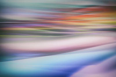 Pastel Sunset Photograph - Untitled by Keren Or