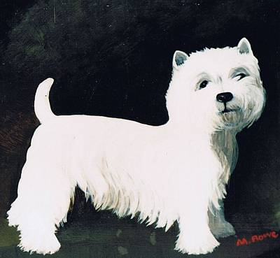 West Highland Terrier Photograph - Untitled by Maggie Rowe