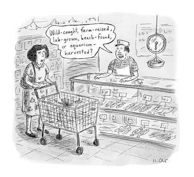 New Yorker November 7th, 2016 Art Print by Roz Chast